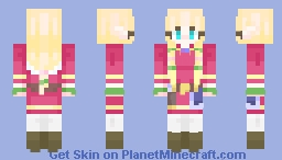 Legend of Zelda Skyward Sword - Zelda Minecraft Skin