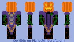 {Curvix} Pumpkin Witch [Event] Minecraft Skin