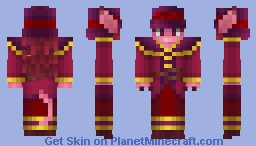 Rasala the Bright Minecraft Skin