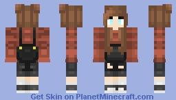 Cute Overalls Minecraft Skin