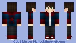 Spider Boy Minecraft Skin