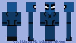Spider-cop Minecraft Skin