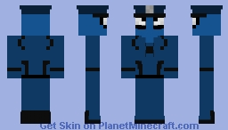 Spider-cop (with hat) Minecraft Skin