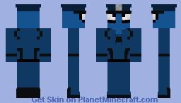 Spider-cop (with hat) Minecraft Skin