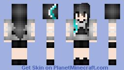 "Dreamcatcher Sua ""YOU AND I"" Inspired Minecraft Skin"
