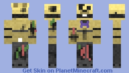 Horror Spring Bonnie|ORIGINAL ANIMATRONIC| Minecraft Skin