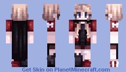 burn the house down ~ i ' m b a c k !! Minecraft Skin