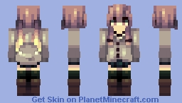 Yuno Gasai Minecraft Skin