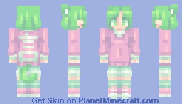 "📜ℭ𝔥𝔞𝔟𝔦𝔩𝔲𝔩𝔲📜""Nowhere"" [GIFT] for Hunter-chan Minecraft Skin"