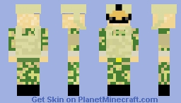 UK Soldier Minecraft Skin