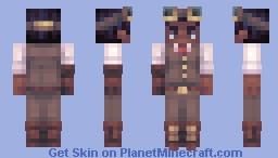 🎃 Day 26 🎃 [SKINTOBER 2018] -Steampunk- Minecraft Skin