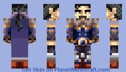 Cyan Garamonde Minecraft Skin