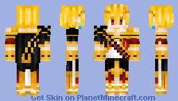 overlord minecraft skin