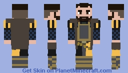 Sir Hanush of Leipa Minecraft Skin