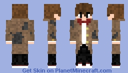 Henry Stein  (Bendy And The Ink Machine) (All 5 Chapters) Minecraft Skin