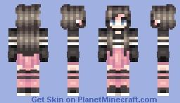복숭아 peach Minecraft Skin