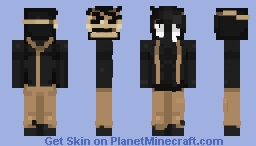 Shadows and suffering Minecraft Skin