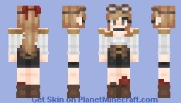 Skintober 2018:: DAY TWENTY-SIX - steampunk Minecraft Skin