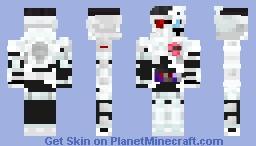 Kamen Rider Genm Zombie Gamer LvX Minecraft Skin