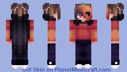 Pumpkin Thief Minecraft Skin