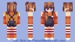Halloween Pixie Minecraft Skin