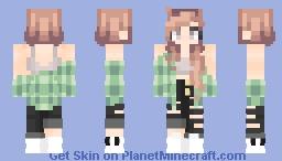Leaf Minecraft Skin