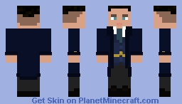 Peaky Blinders - John Shelby (Coat) Minecraft Skin