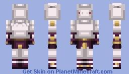 Killer Queen | Diamond is Unbreakable Minecraft Skin