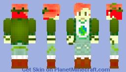 Poison Ivy Hipster (Boy) Minecraft Skin