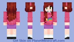 Me as Mable Pines! Minecraft Skin