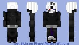Uchiha Obito(Tobi) White Mask Skin Minecraft Skin
