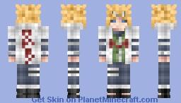 Minato namikaze Minecraft Skin