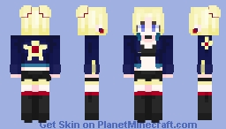 Retro Star Minecraft Skin