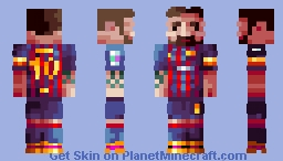 ℜomto-  Lionel Messi Minecraft