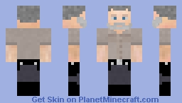Rick Grimes (s9e01) Minecraft Skin