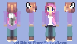 Purple sweater Minecraft Skin