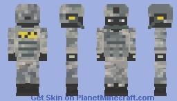 Dark Tactics Minecraft Skin