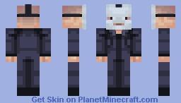 Mask - Skintober Day 22 Minecraft Skin