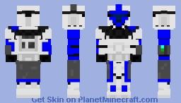 CloneSargeant-KalibDeusExHamilton-SecurityAuxiliaryBlockadeOfficer Minecraft Skin