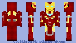 Iron-Man (Mark 50 - Infinity War) Minecraft Skin