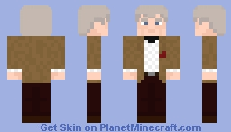The Great Curator (Doctor Who: The Day of The Doctor) Minecraft Skin
