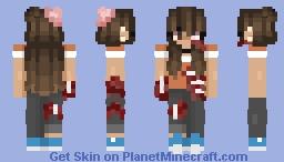 Where did Everyone Go?? (Zombie Girl) Minecraft Skin