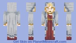 Jaina Proudmoore inspired winter robes. Minecraft