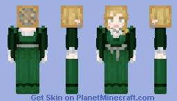 Noblewoman's evening gown. Minecraft