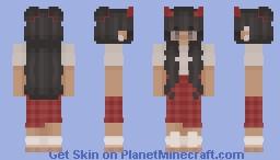 aestheticsatan Minecraft Skin