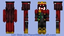 Oda Nobunaga (Archer) 織田信長 Fate/GrandOrder Minecraft Skin
