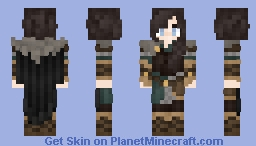 𝓡𝓸𝔃𝒆 || Medieval | Northern Viking Woman Minecraft Skin