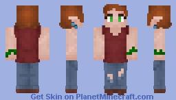 Ara Luro - Elf Minecraft Skin