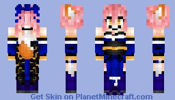 Tamamo no Mae (Caster)  玉藻の前 Fate/GrandOrder Fate/Extra Minecraft Skin