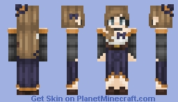 Skintober 2018: FINAL DAY - myself in costume Minecraft Skin